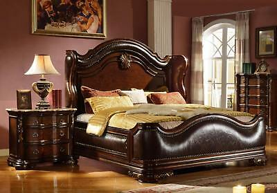 Traditional Imperial Leather Eastern King Size Bedroom Set