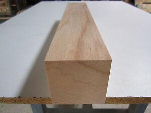 1 Kernbuche (€47,98/m) Tischbein 80x80x500mm Buchenkanthölz<wbr/>er Kanthölzer Buche
