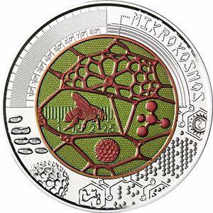 Mikrokosmos österreich Niob 25 Euro 2017 Silber Münze Ebay