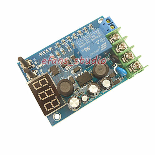 12V-96V 10A  LED  Automatic Battery Charger Charging Controller Protection Board