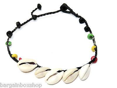 Ladies Girls Reggae Raste Bead Bell Ankle Bracelet Foot Anklet Hippy Boho