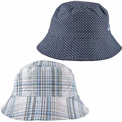 Pesci Baby Boys Sun Hat Summer Bucket Nautical Anchor