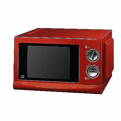 Signature S24003 Countertop Microwave Oven 17l Red For Online Ebay