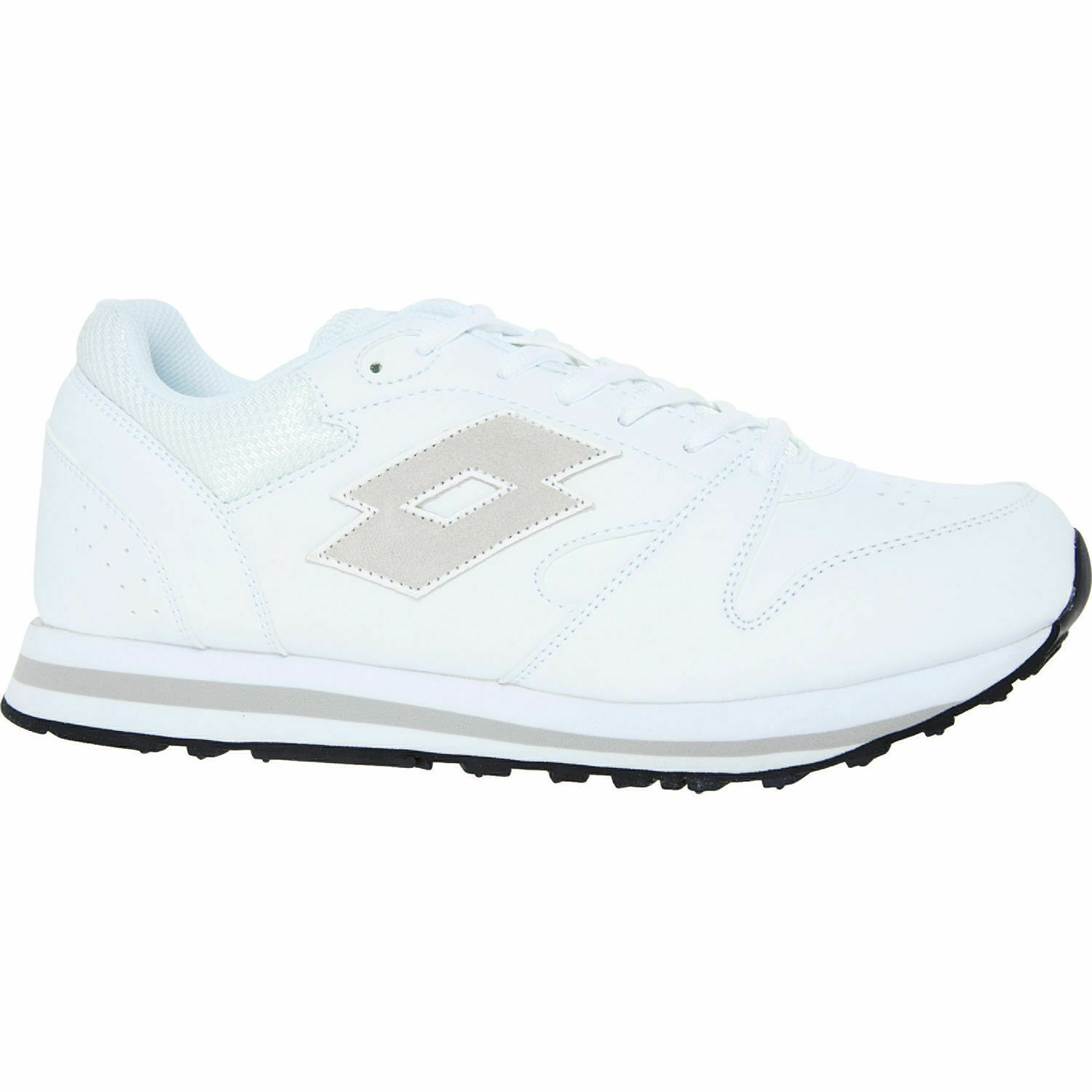 0b8a30be91ff Lotto Premium VIII LTH S4199 White Grey Sports Sneakers shoes Trainers