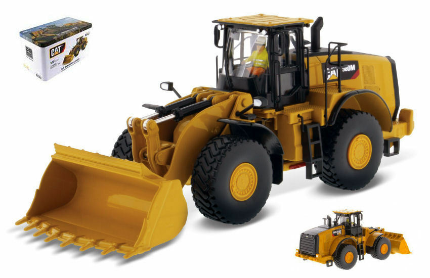 Cat 980m Wheel Wheel Wheel Loader 1 50 Model DIECAST MASTERS 0f7ca7