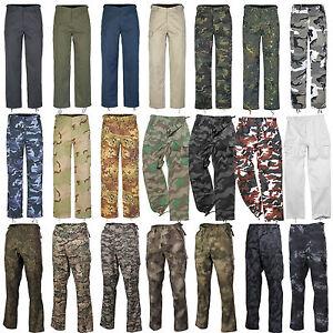 US-RANGER-PANTALONI-22-Colori-XS-7XL-Esercito-Pantaloni-cargo-da-campo-lavoro
