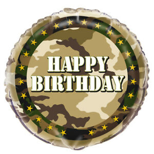 Image Is Loading 1 Ct MILITARY CAMO 18 034 Mylar Foil