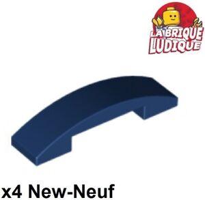 Curved 4 x 1 Double No Studs 93273 NEUF LEGO X2  Black Slope