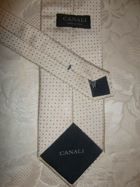 Cravate de Italy CANALI < Made in Italy de > TOP comme NEUF _!!! 536540