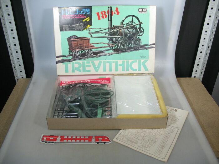 Q939-1Trevithik Gakken (Giappone) 1 3 8 Kit di Costruzione Locomotiva a Vapore