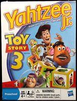 Yahtzee Jr Toy Story 3 Edition Board Game Hasbro Preschool Disney 2009 Brand