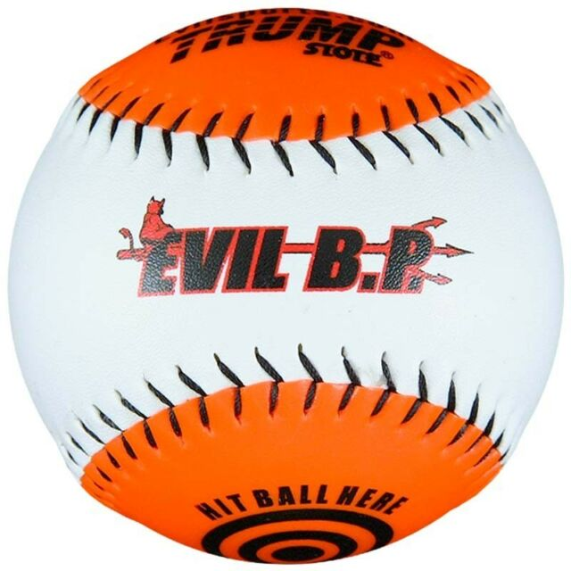 "1 Dozen Evil Bp 12"" Batting Practice Softballs AK-EVIL-BP 12 Balls"