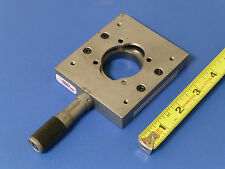 Newport Micro Controle Linear Translation Stage With Micrometer