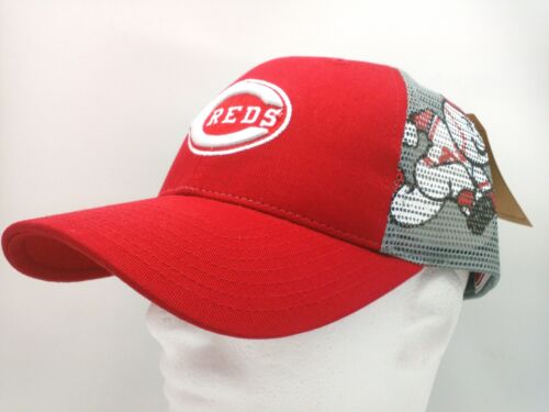 Cincinnati Reds Hat Trucker//Meshback//Snapback//Screened Panel  by American Needle