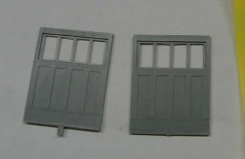 BAGGAGE PASSENGER CAR DOORS SET On3//On30 GRANDT LINE #3823 COMBINE
