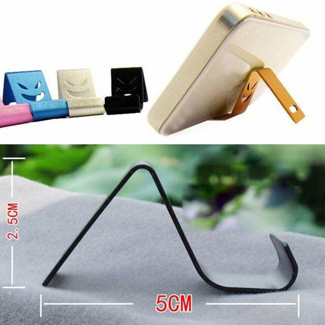 Mobile Phone Holder Aluminum Metal Cellphone Tablet Desk Mount Smart Phones