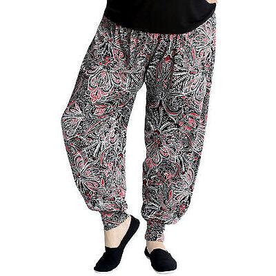 Nouveau Dames Harem Grande Pantalon Paisley Artsy Éclairé Ali Baba Nouvelle