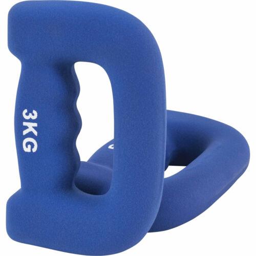 GORILLA SPORTS® Kurzhantel-Set Neopren mit Griff 2-10 kg in 5 Farben