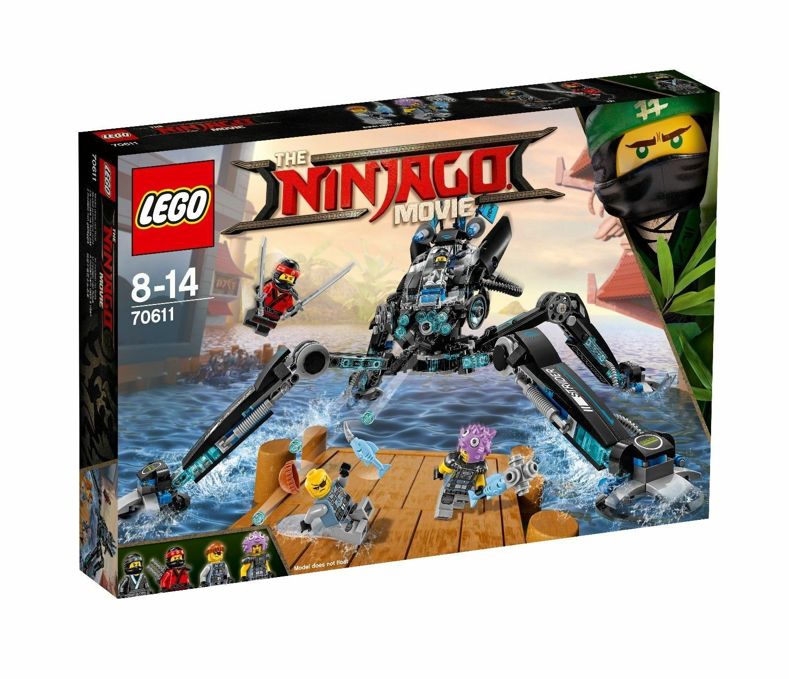 LEGO ® The Ninjago Ninjago Ninjago Movie 70611 ña 's eau-Walker Nouveau Neuf dans sa boîte dca7e8