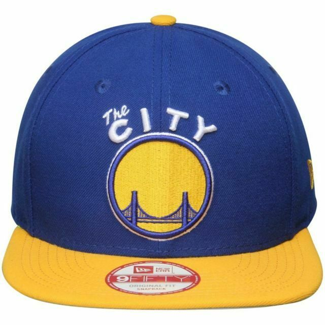 Golden State Warriors New Era Snapback 2Tone 9Fifty Authentic Hat