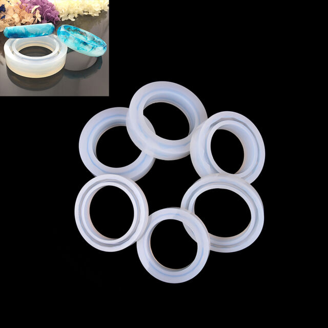 1XSilicone Mold Casting Mould For Resin Bangle Bracelet Jewelry Making DIY BH