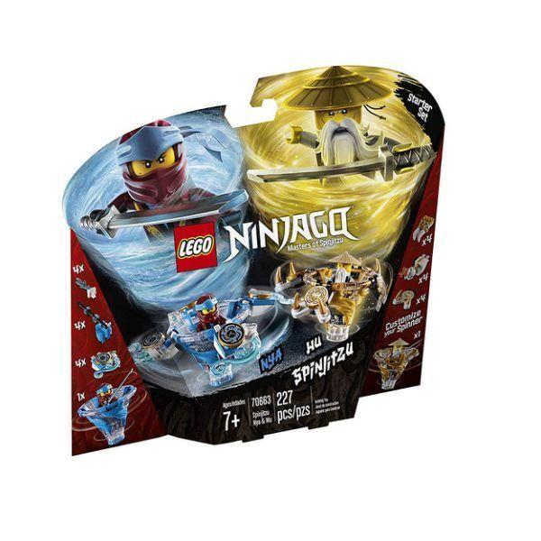 LEGO 70663 NINJAGO SPINJITZU NYA & Wu BUILDING KIT KIT KIT (227 PCS) Brand New FAST fcd224