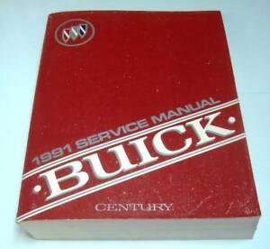 Manual-de-servicio-de-coche-Buick-Siglo-1991