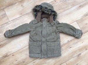 26819858d Debenhams Jasper Conran 18-24 months Baby Boy Brown Warm Fleece ...