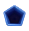 Pentagon-plastic-candle-mould-Make-5-sided-candles-from-3-to-10cm-high thumbnail 2