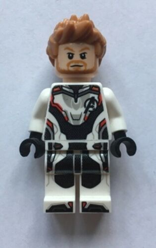 Avengers Minifigure New From 76126 Lego Super Heroes Thor White Jumpsuit sh572