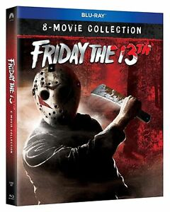 Friday-the-13th-8-Movie-Ultimate-Collection-Blu-ray-Region-free-NEW-amp-SEALED
