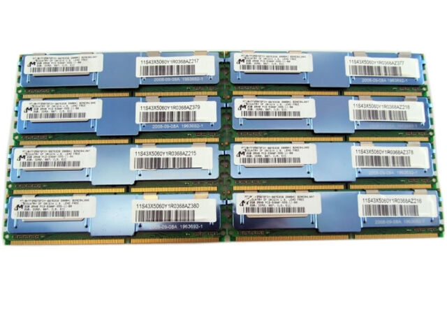 32GB 8x4GB PC2-5300F DDR2 Fully Buffered Server Memory RAM for Dell 1900