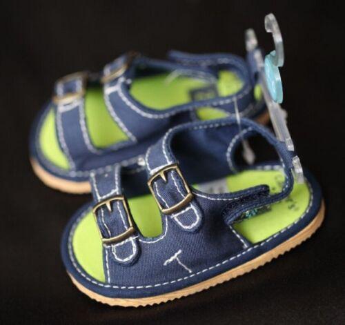 Carter/'s Baby Boy Layette Summer Sandal Shoes Beige//Navy size 1//2//4
