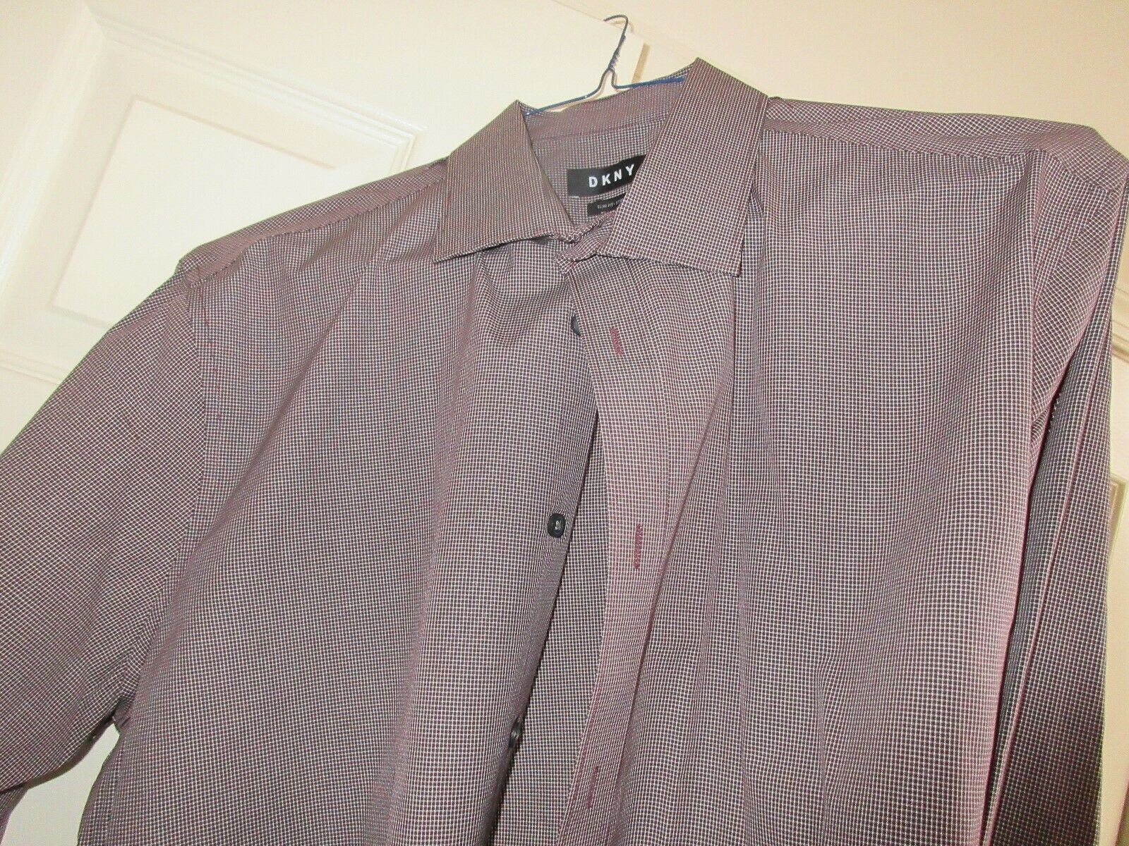 DKNY , Slim Fit-Stretch, 17 34/35 , 96% Cotton 4% Elast