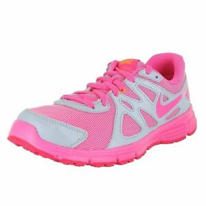 nike revolution 2 gray pink