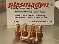 5pc X 020351 Electrodes For Ya5550 Max42/43 600 800 900 Plasma Cutters Us Ship