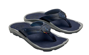 Olukai Kipi Trench Blue//Trench Blue Flip Flop Sandal Men/'s sizes 7-15//NEW!!!