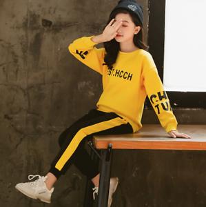 Ropa Para Ninas De 6 8 10 12 Anos Conjuntos De Adolescentes Pantalones Camisas Ebay