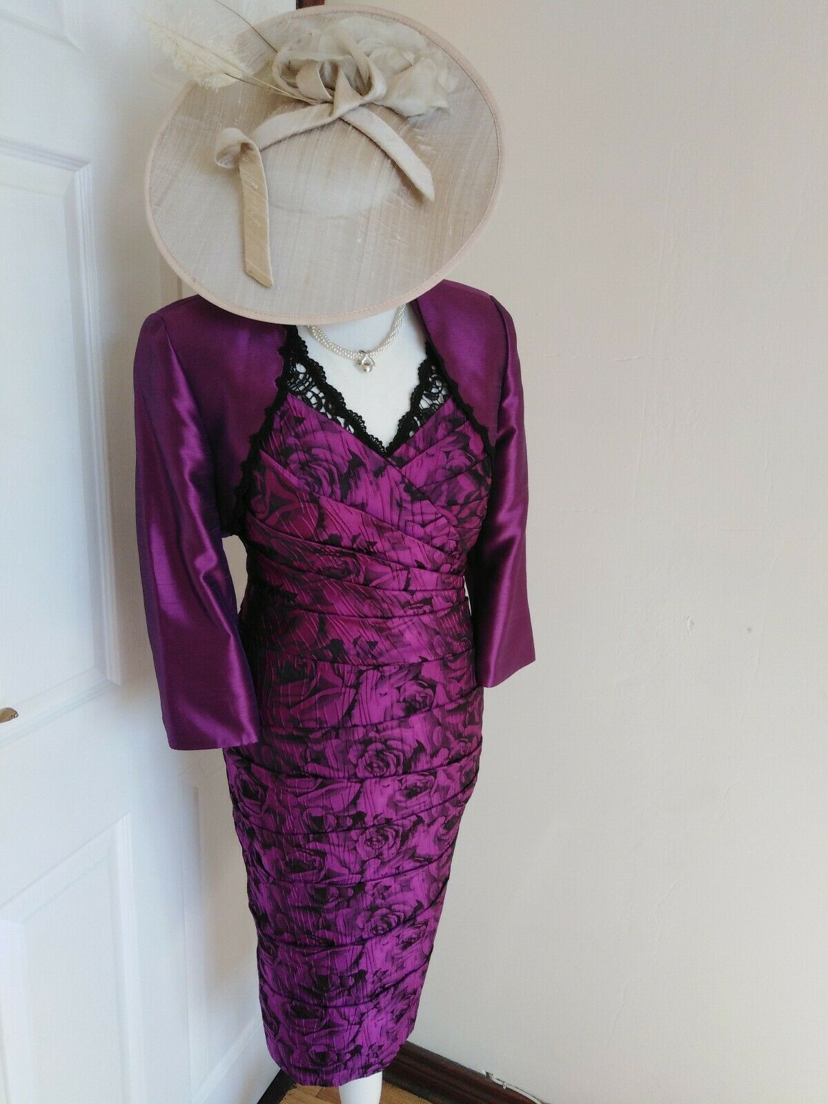 MOTHER OF THE BRIDE /GROOM OUTFIT BY LIBRA SIZE 10