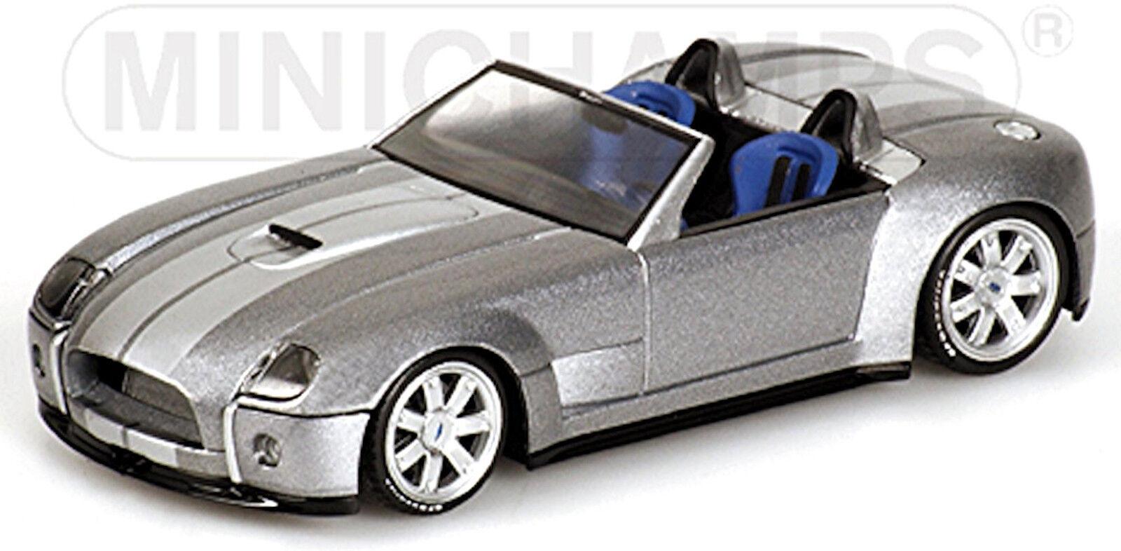 Ford Shelby Cobra Concept Car 2004 grau grau metallic 1 43 Minichamps  | München Online Shop
