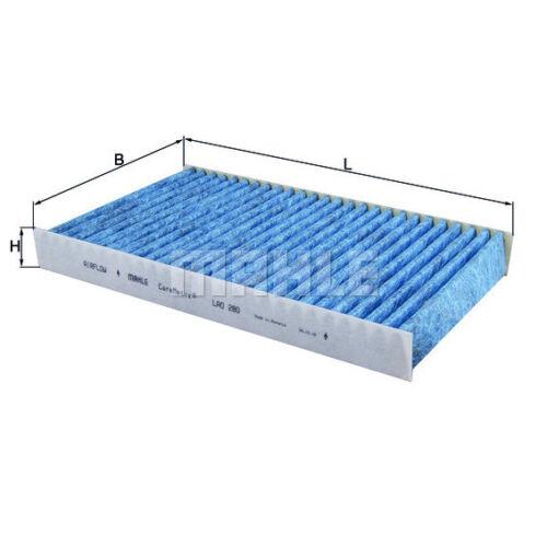 espacio interior aire caremetix ® Knecht Lao 280 Filtro