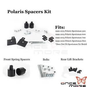 2-034-Front-Rear-Spacer-Lift-Bracket-Kit-Fit-99-15-Polaris-Sportsman-500-600-700