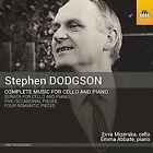 Dodgson Music for Cello & Piano Evva Mizerska Emma Abbate Toccata Classics