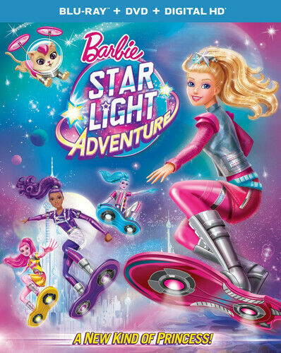 Barbie Star Light Adventure Blu-ray DVD Digital HD - Blu-ray - GOOD - $4.99