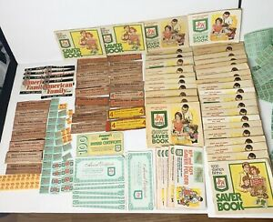 MEGA-Collector-s-Lot-Vintage-S-amp-H-GREEN-STAMPS-Quick-Saver-Books-See-Pics-Please