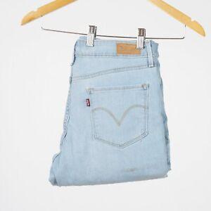 Levi-039-s-Mid-Rise-Skinny-hellblau-Damen-Jeans-DE-38-US-W31-L32