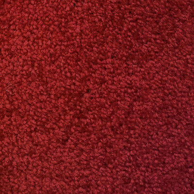 QUALITY RED COLOURED, FELT BACKED CARPET, LOUNGE, BEDROOM, STAIRS