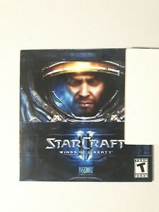 Starcraft Wings Of Liberty PC Game Very Good Condition Disc Only
