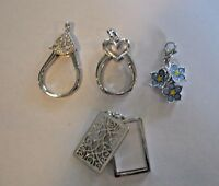 Authentic Origami Owl Dangle Memory Catcher Charm Holder Pendant Free Shipping