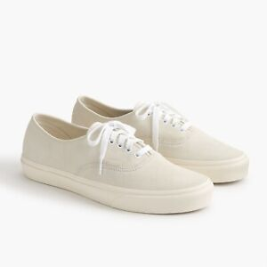 Details zu Vans Authentic von J.CREW LIMITED EDITION! Off White 42,5 (like COMMON PROJECTS)